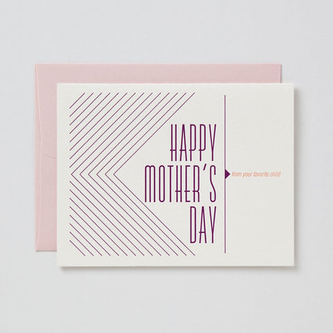 Mom, I'm Your Favorite Child Card