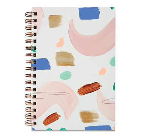 Painted Notebook Seashape