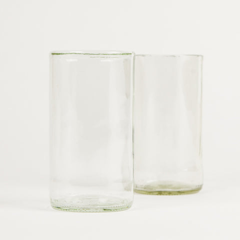 Tiny Clear Bottle Glass (8 oz)