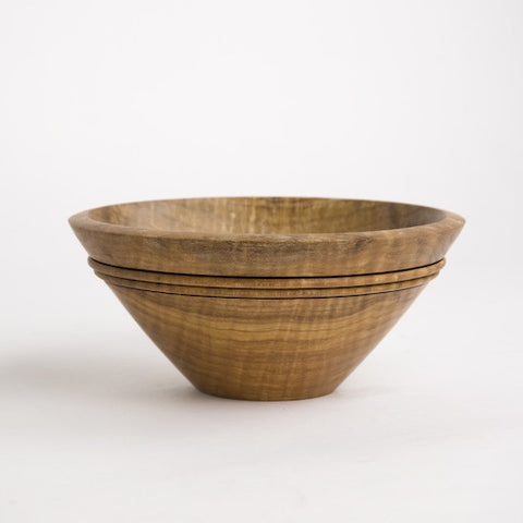 Maple Etched Bowl