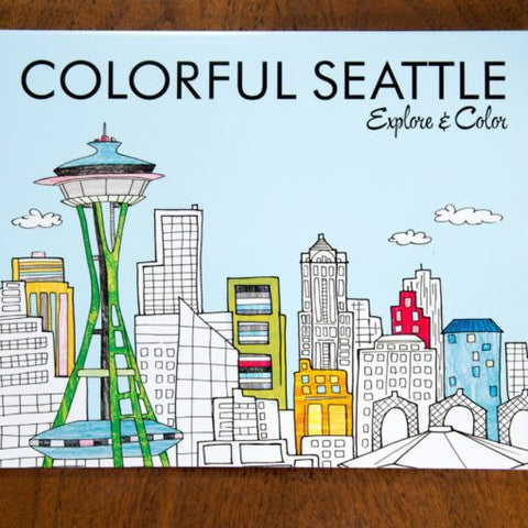 Seattle Coloring Book