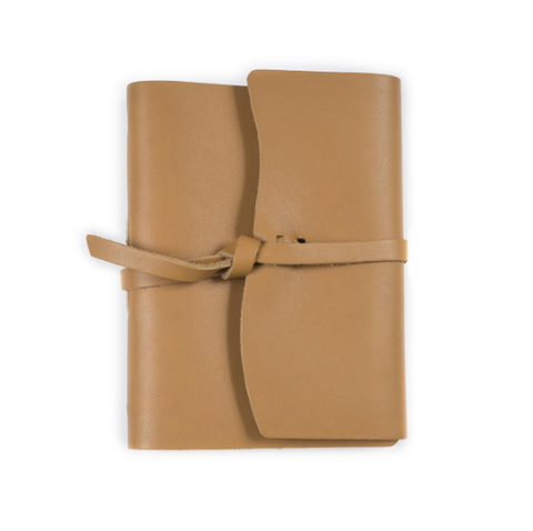 Parley Leather Journal w/Flap Tie