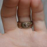 Till Death Do Us Part Ring - Bronze