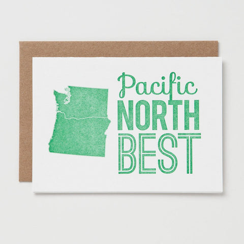 Pacific North Best Card