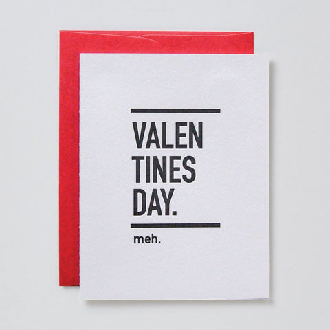 Valentine's Day Meh Card