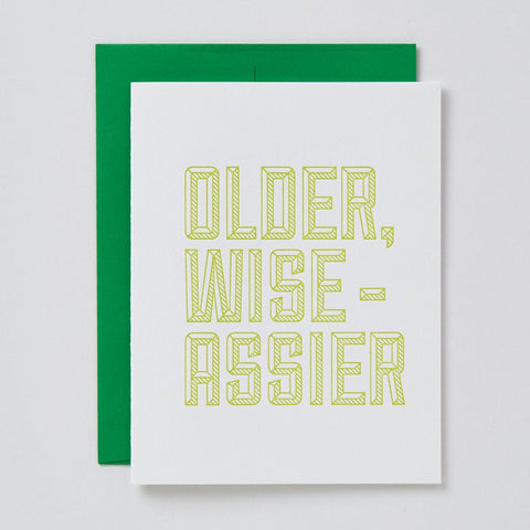 Older Wise-Assier Card
