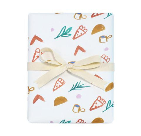 Pizza Taco Wrapping Paper