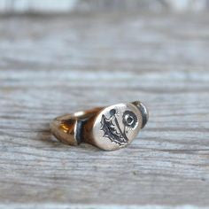 Dandelion Ring - Bronze