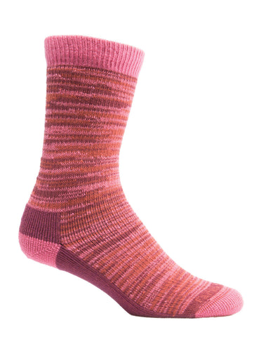 Bend Crew Womens' Socks Carmine