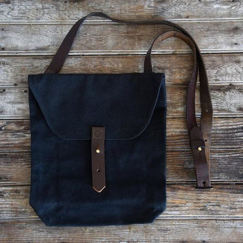 Hunter Satchel - Coal