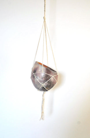 Hanging Clay Pod