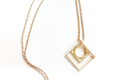 Geo Deco Necklace