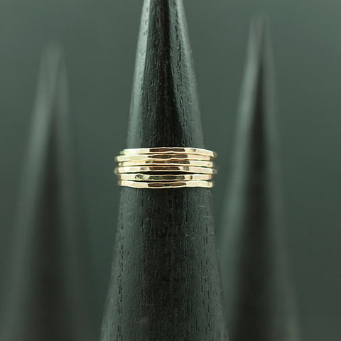 Recycled Stacking Promise Ring