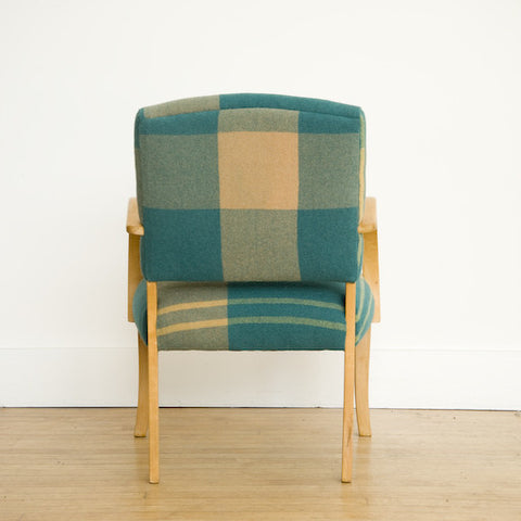 Bent Maple Wool O' The West Armchair