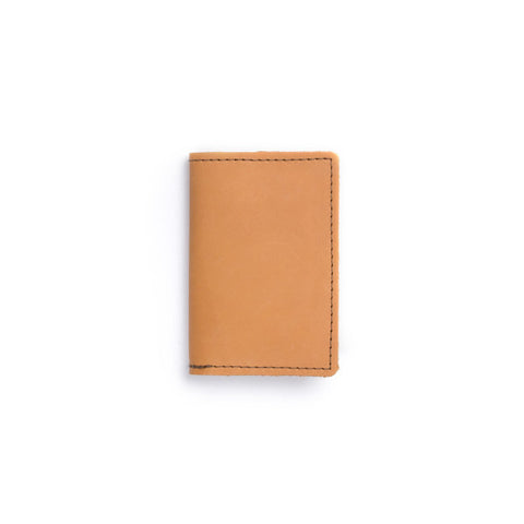Refillable Pocket Notebook, Buckskin