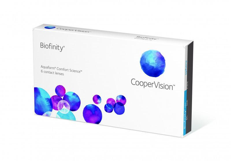 Biofinity 6 Pack 12 Boxes