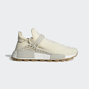 PHARRELL WILLIAMS HU NMD PROUD SHOES – Cream