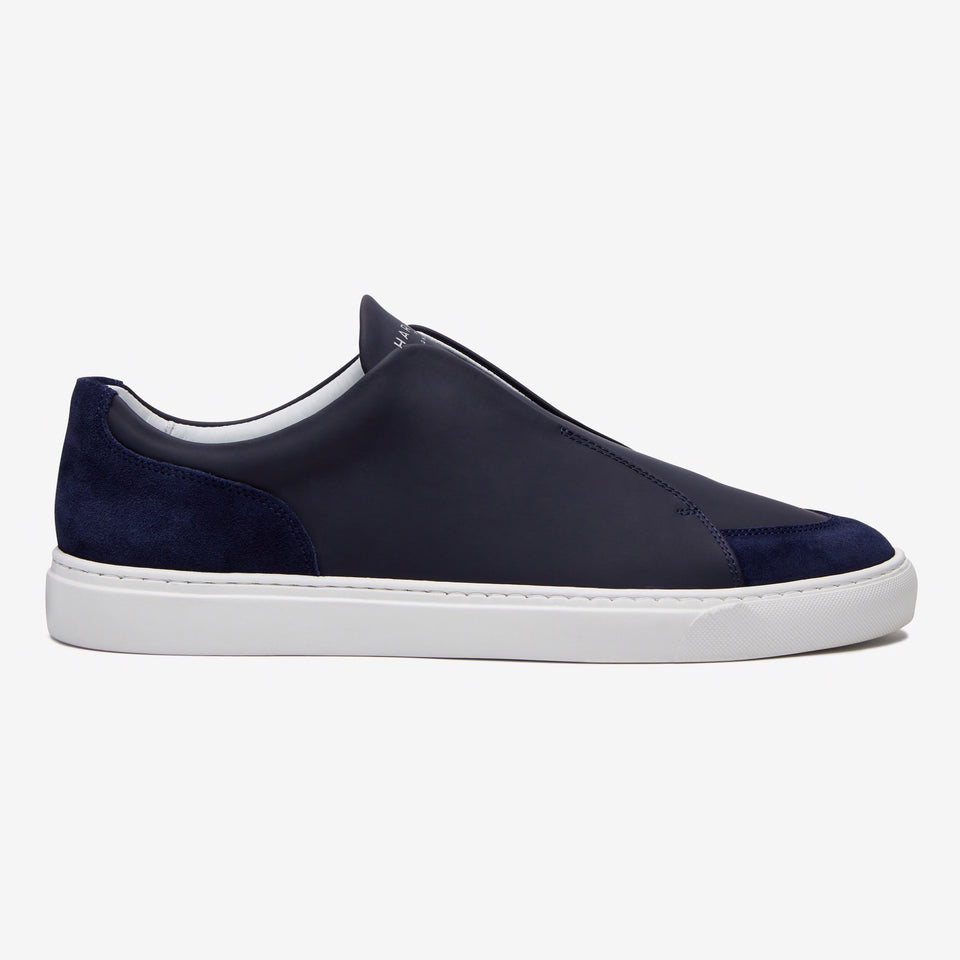 Jaunty Tech Leather/Suede Navy