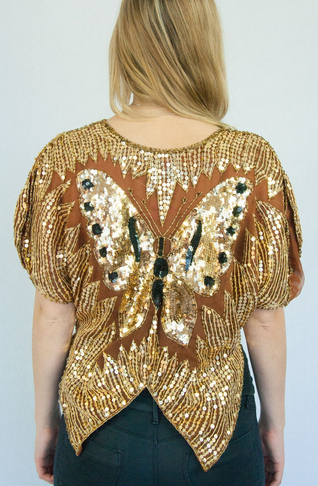 Vintage Butterfly Top