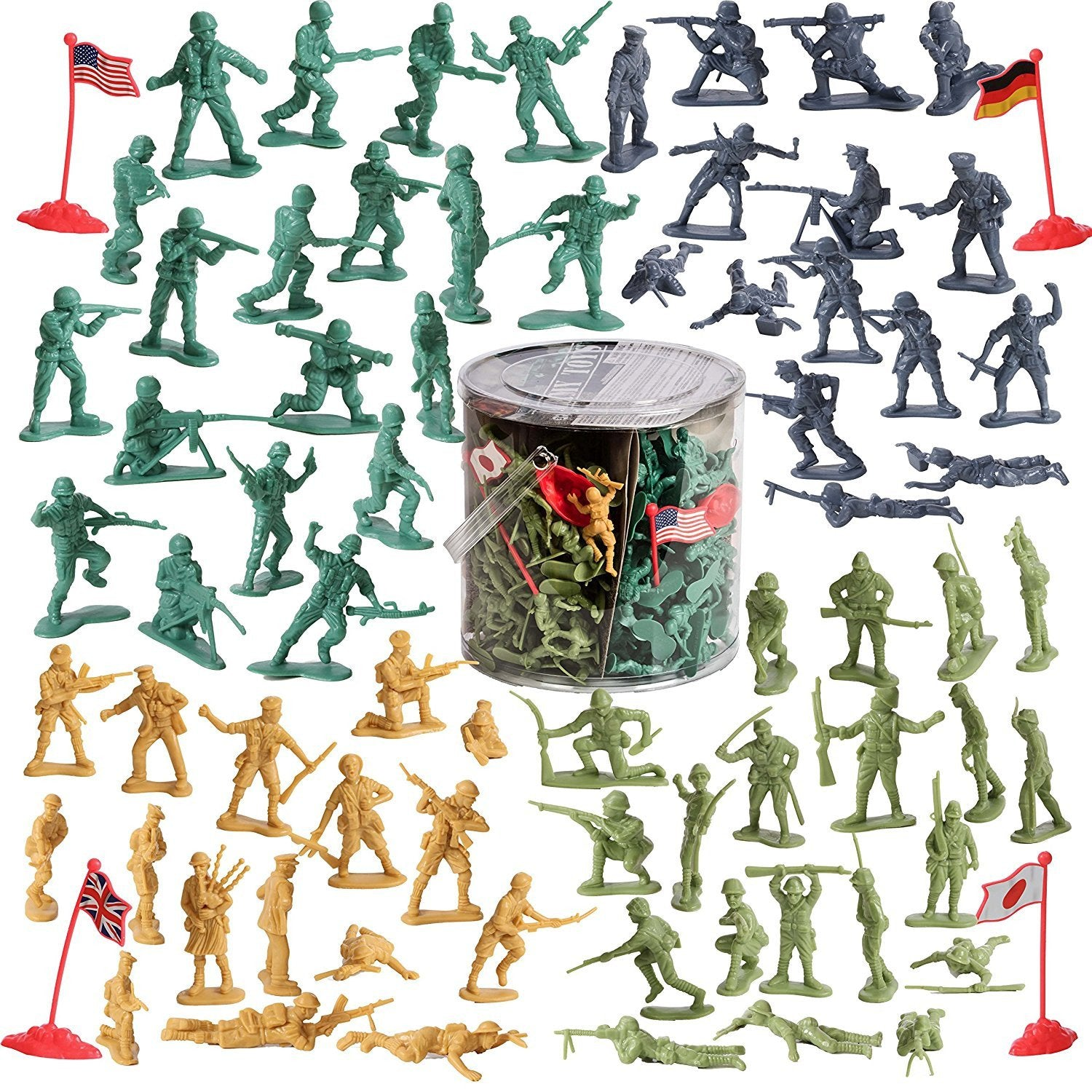 200 piece Army set Soldiers in Combat mission