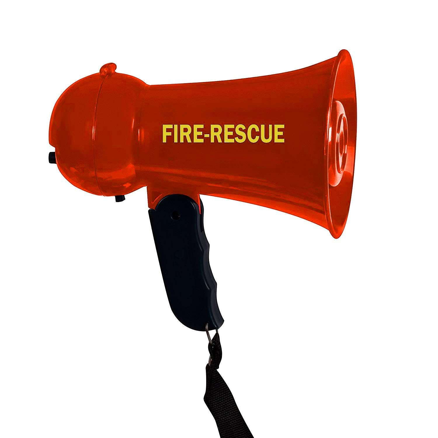 IQ Toys Pretend Play Kids Fire Rescue Megaphone with Siren Sound