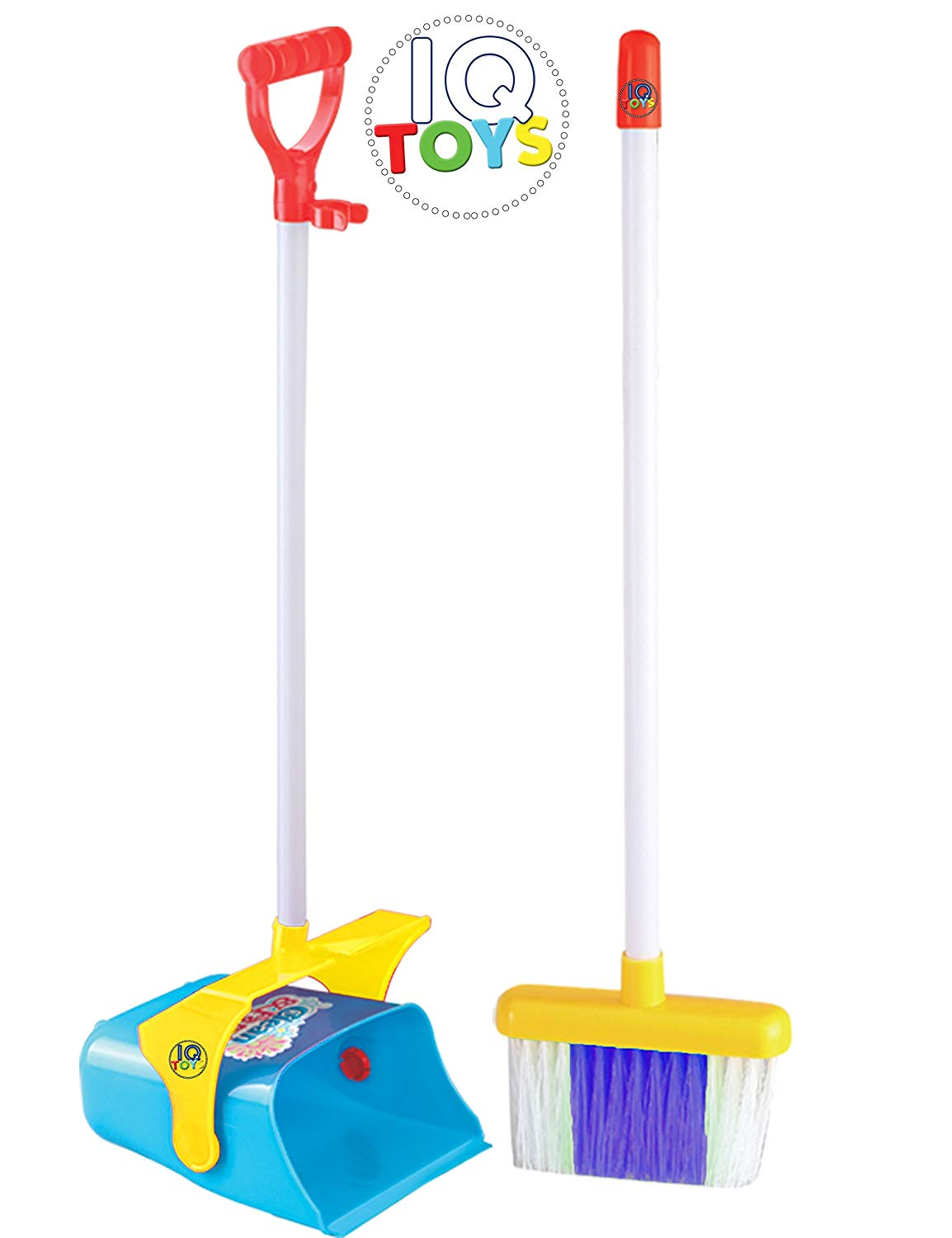 Mommy's Helper EXTRA TALL broom and standing dust pan