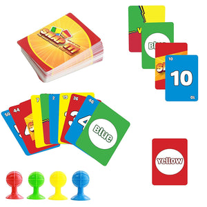 Snap It! Fast Paced Quick Thinking Card Game -Ready Set Action!