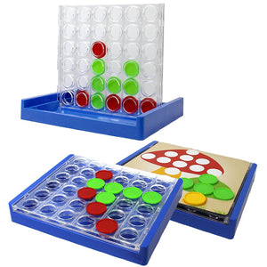 3 in 1 Family Game Reversi, Connect 4, Match the Colors to the Picture