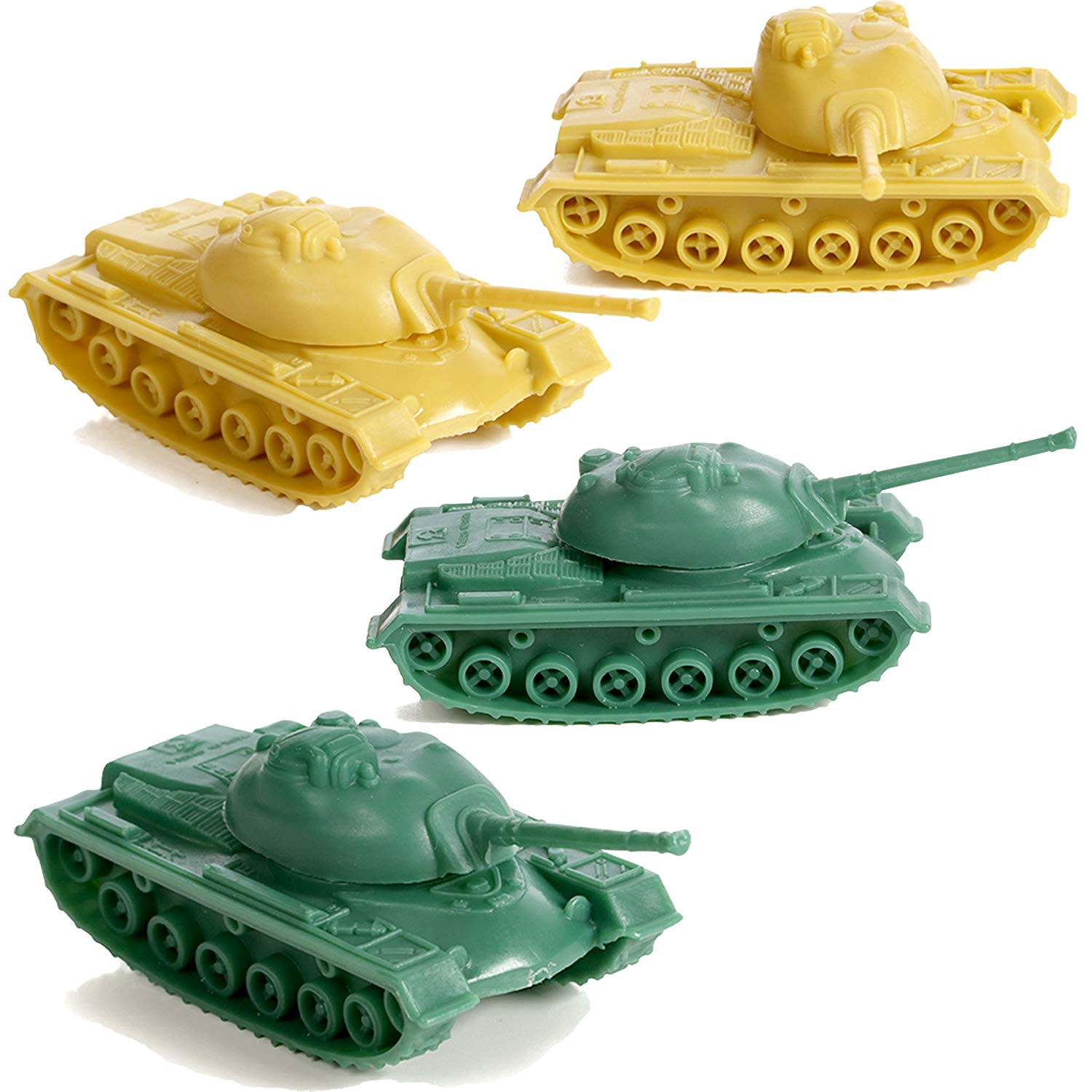 IQ Toys 100 Piece Set of Military Army Accessory Set, War Tanks, Camp Tents, Jeeps Plus