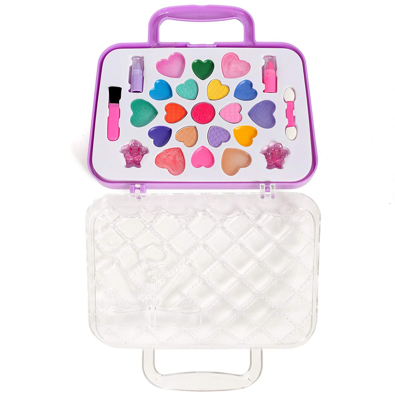 Girls Pretend Traveling Washable Make-Up Case