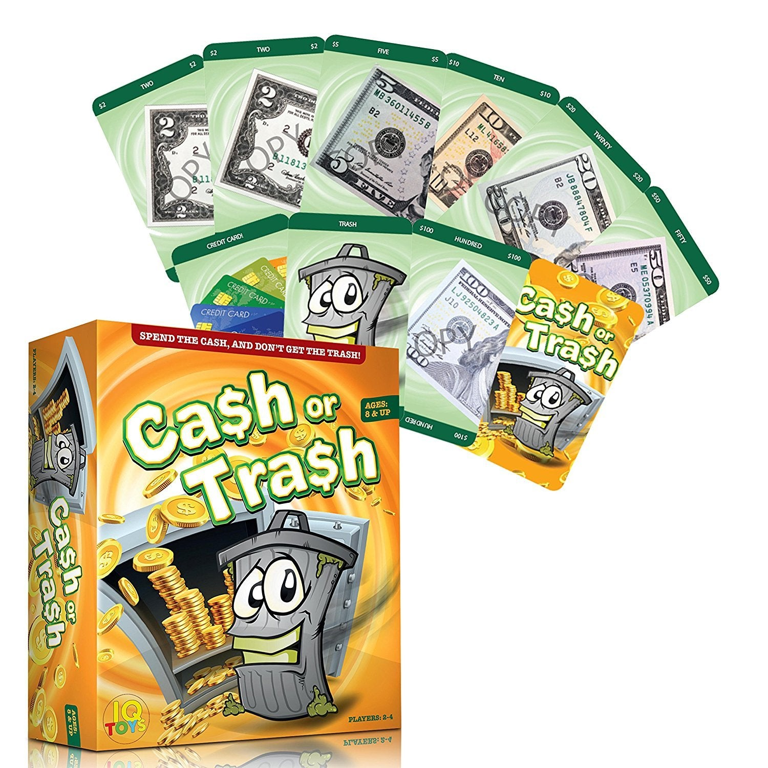 Cash or Trash - Sneaky and Hilarious Card Game