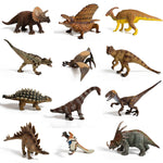 IQ Toys 12 Piece Large Assorted Dinosaurs
