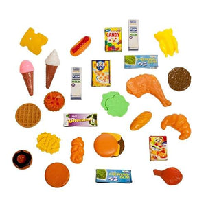 Shopping Basket, Play Food, 32 pieces - Toys 2 Discover - 1