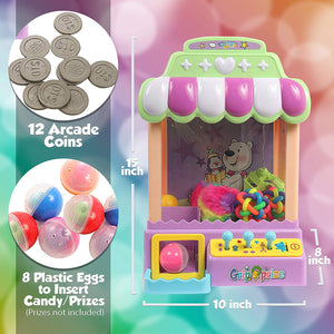 IQ Toys Claw Machine, Electronic Grabbing Toy for Kids with Music