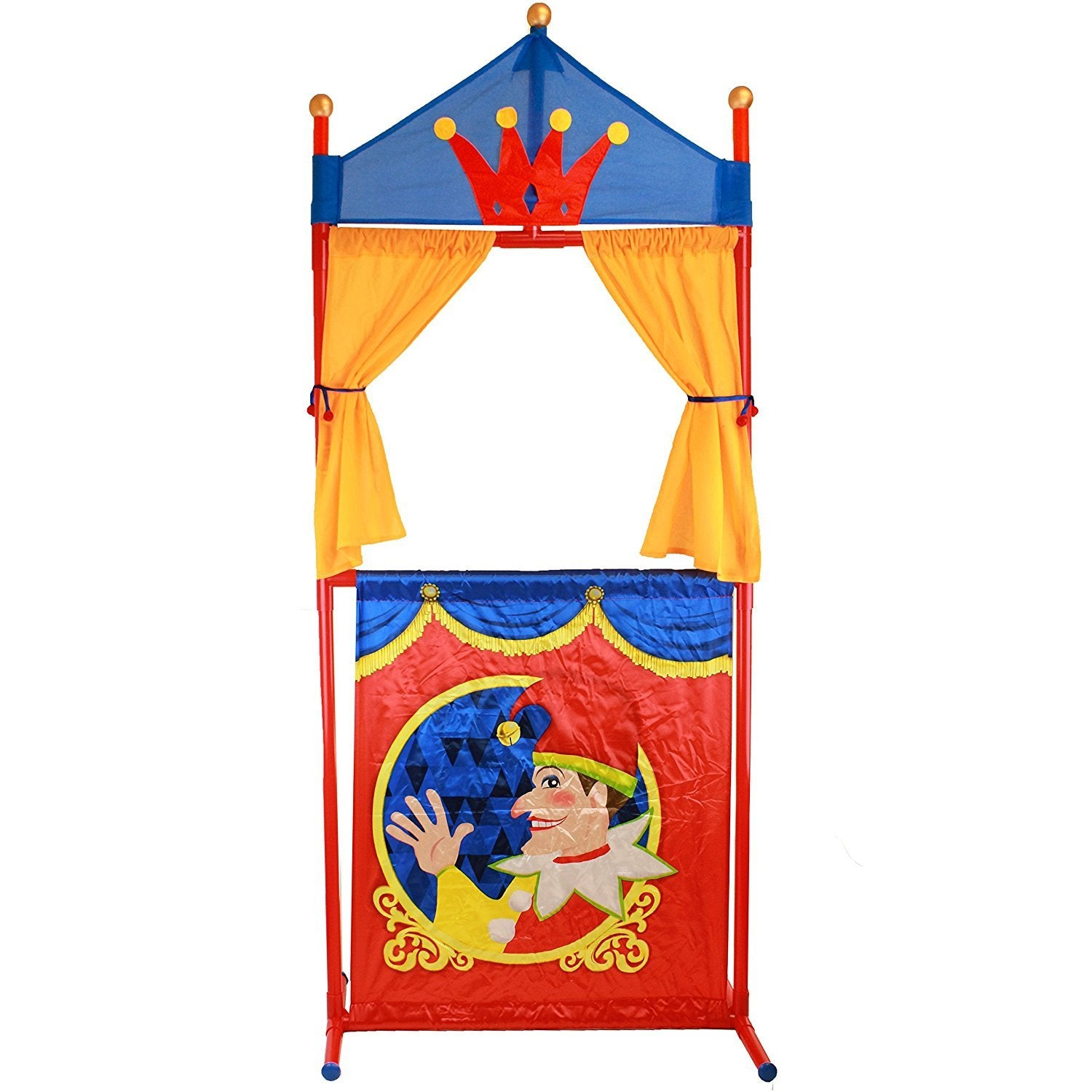 Deluxe Puppet Theater Fold-Able And Easy to Store