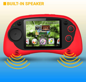 "Handheld Portable Digital Screen 200 Preloaded Games , 2.7"" Color Display"