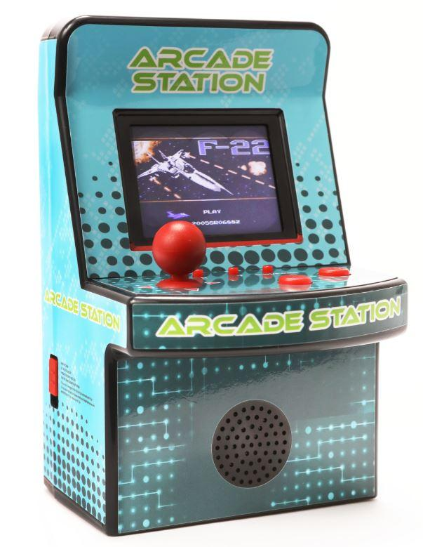 IQ Toys Mini Arcade Station Game, with 240 Games