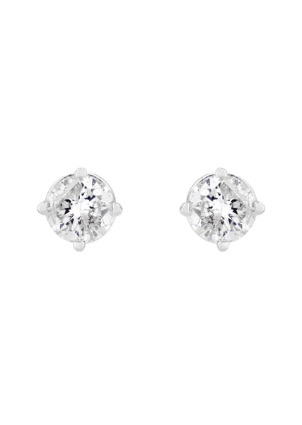 Round Diamond Stud Earrings | 0.35 Carats