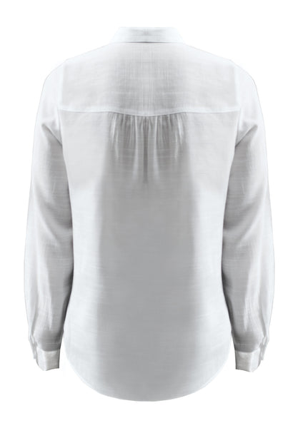Long sleeves shirt with lace up eyelid bust detail Ricki
