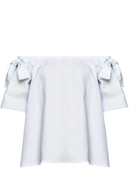 Off the shoulder white shirt Anne Marie - Noel of Me