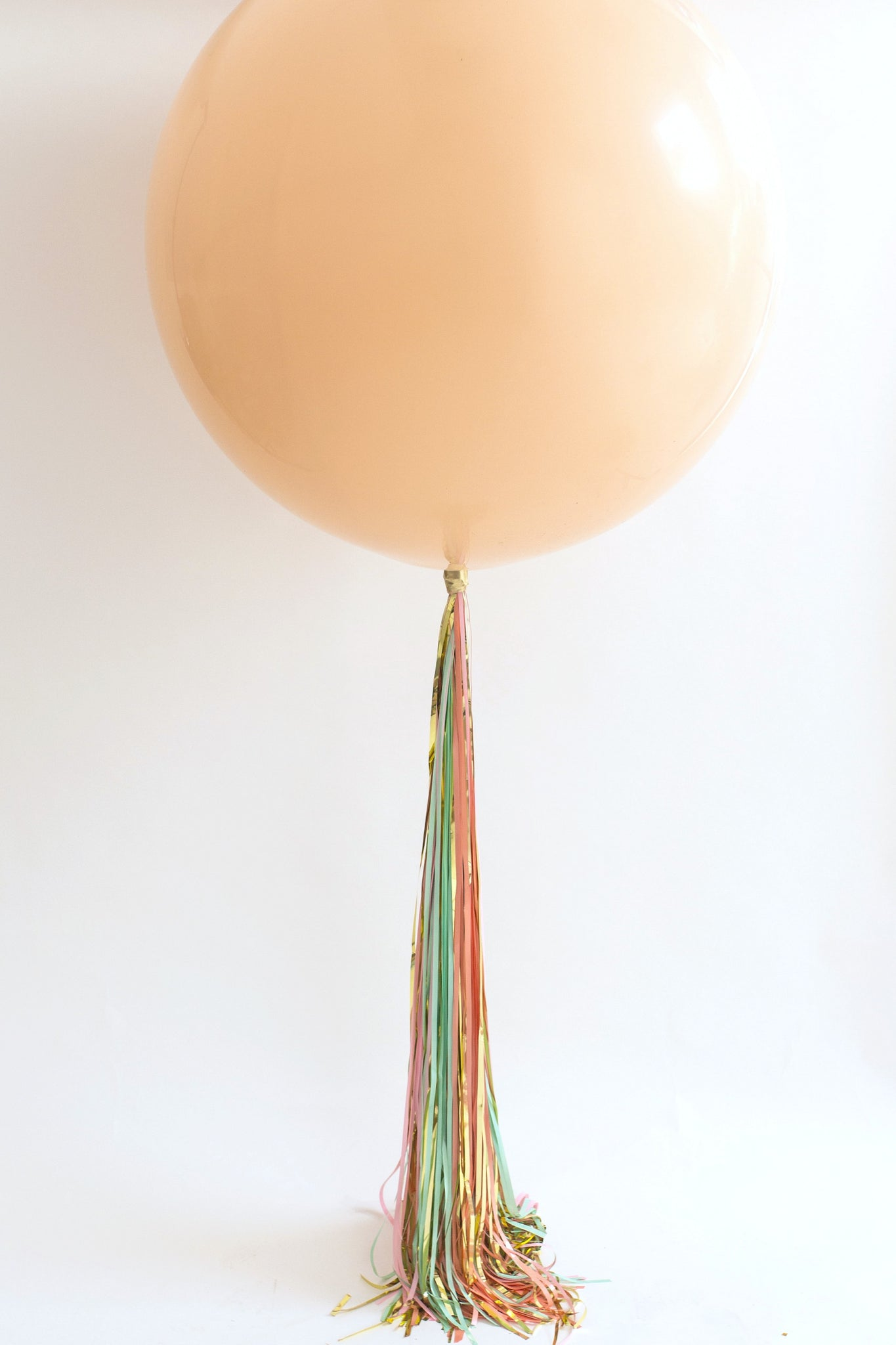 Easy Balloon Tassel Tail Tutorial