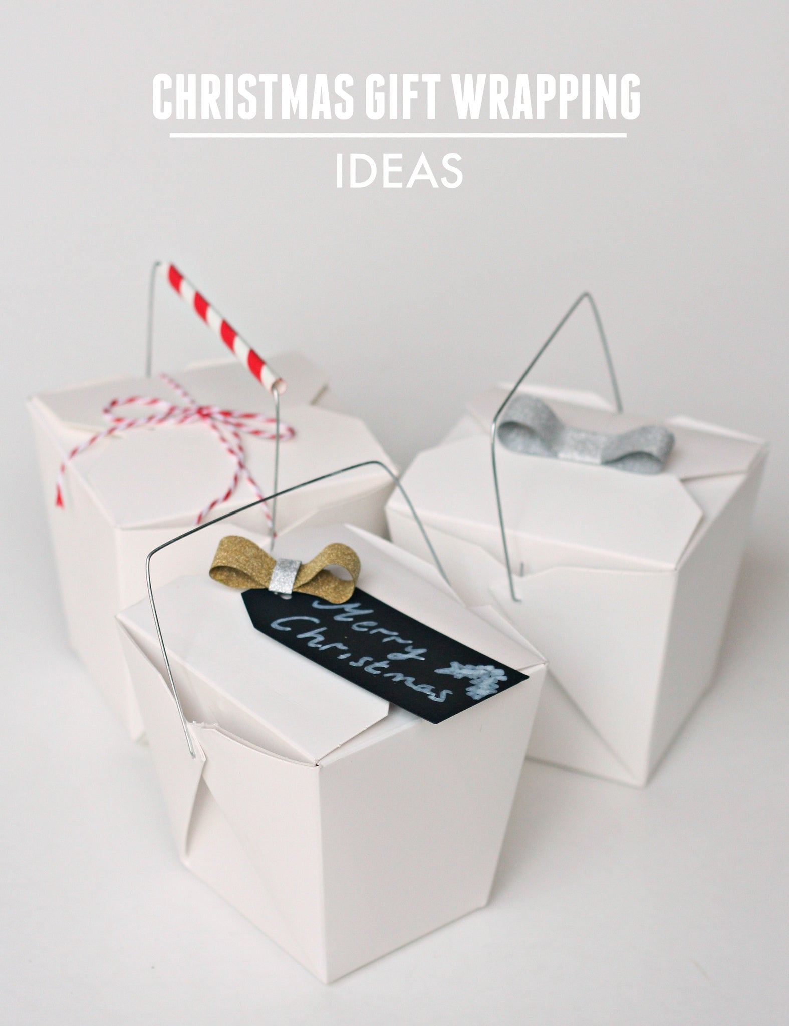 3 Cool Christmas Gift Wrap Ideas - Pretty Little Party Blog