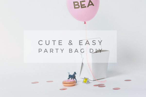 Cute and Easy Party Bag DIY