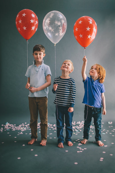 Modern Kids Party Balloons | Cool Kids Party Decor