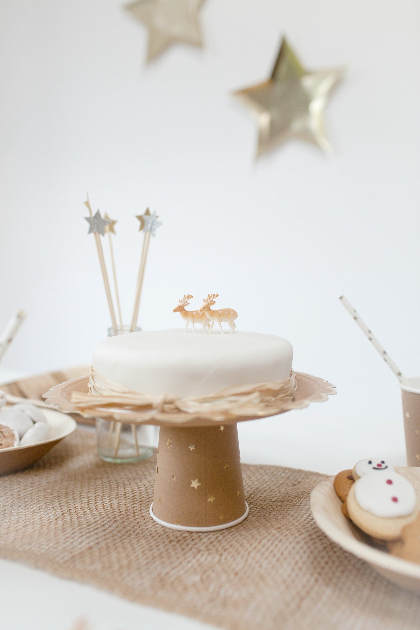 Natural Nordic Style Christmas Table