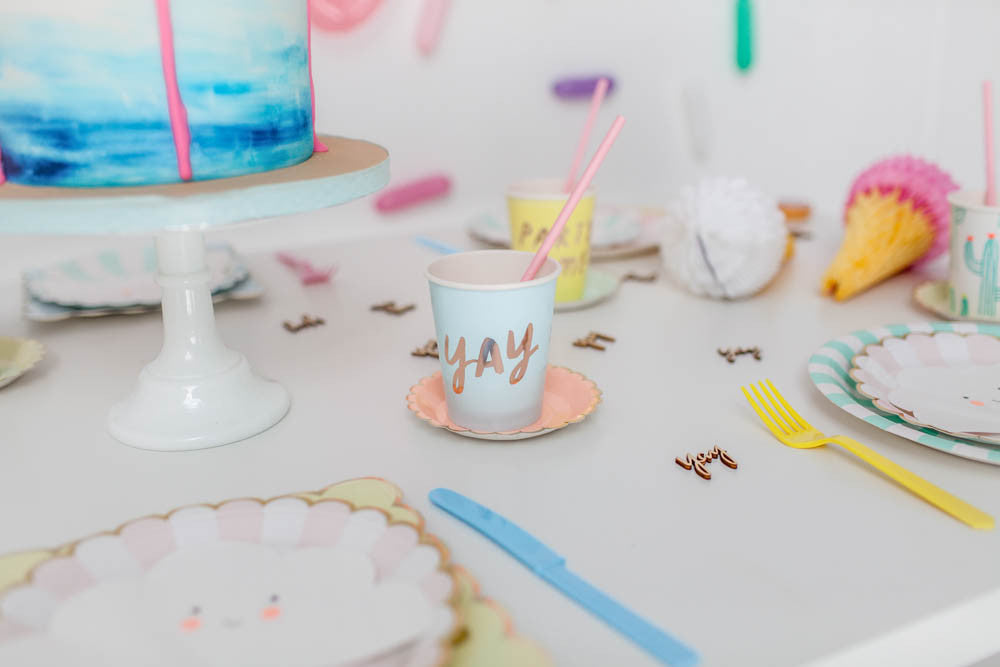 Pastel party Table