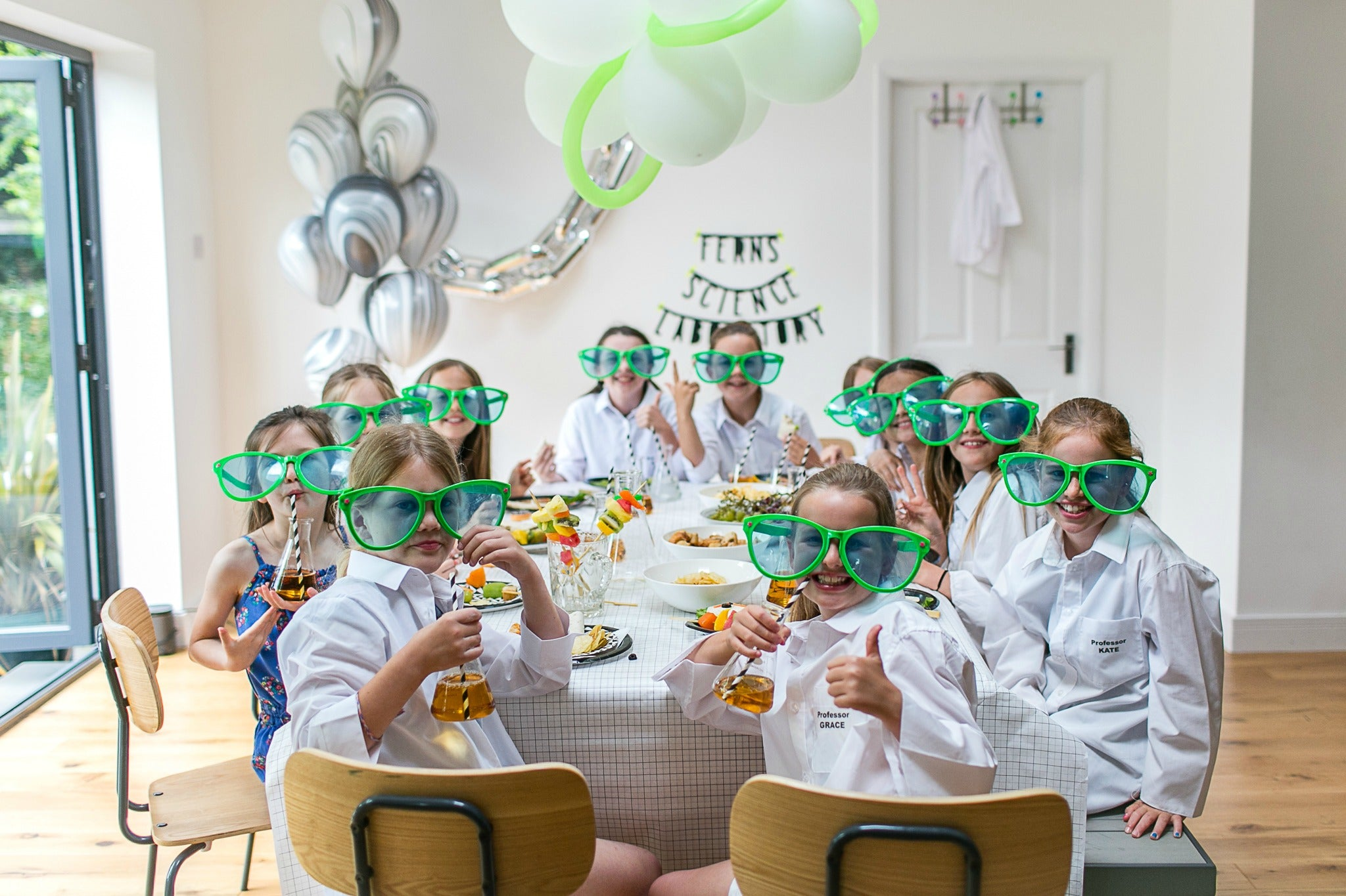 childrens science party