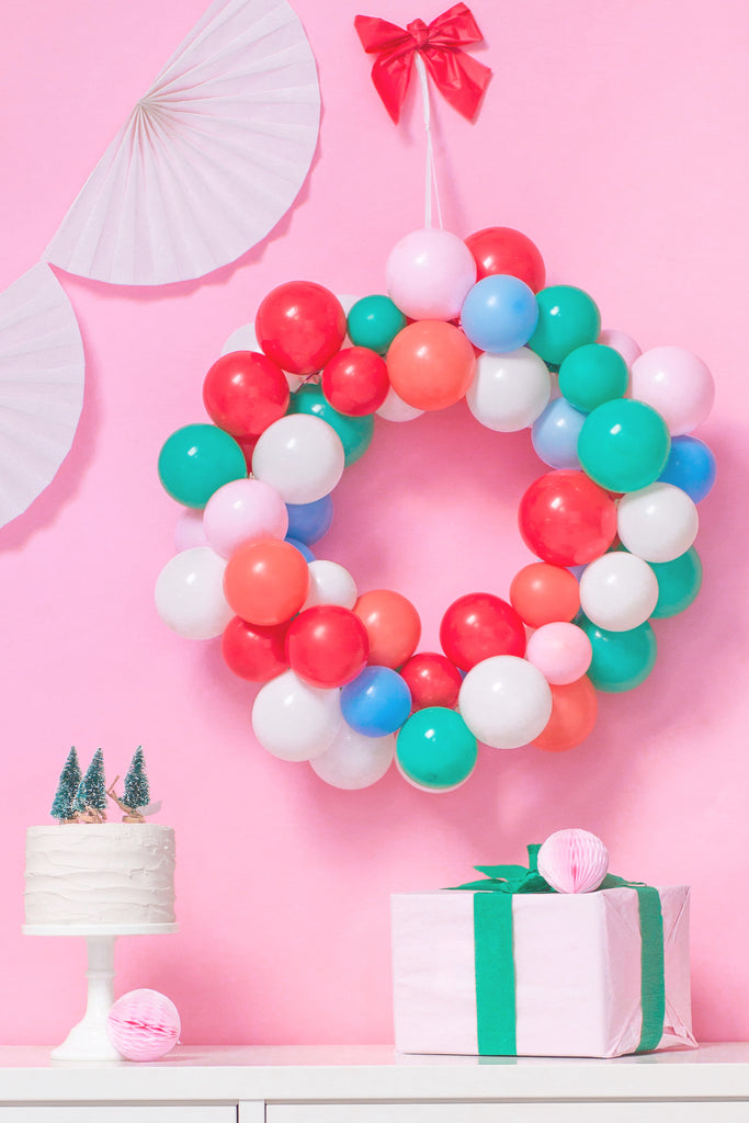 Balloon Wreath Tutorial DIY