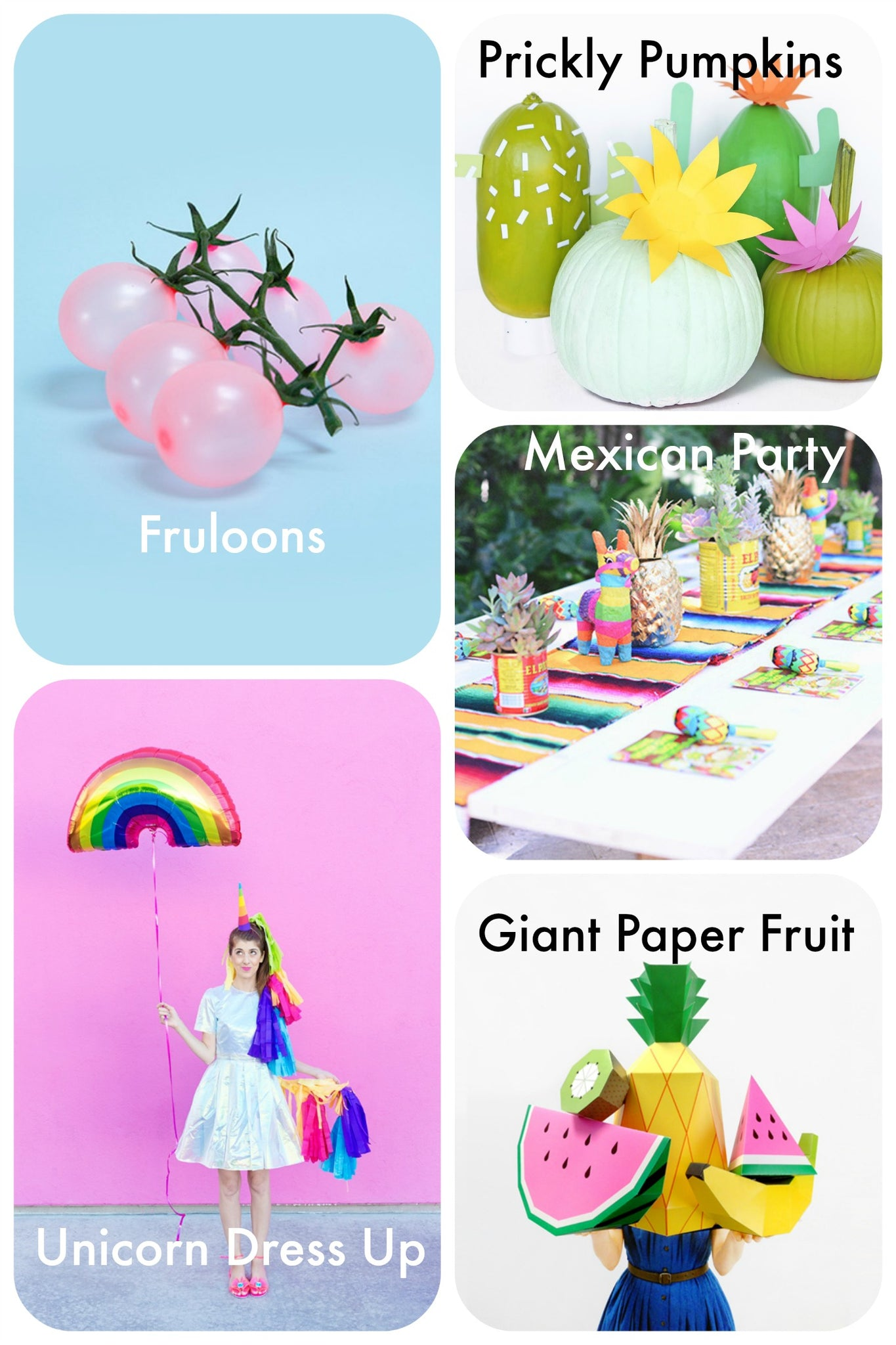 Perfect Party Ideas - Pretty Little Party Shop