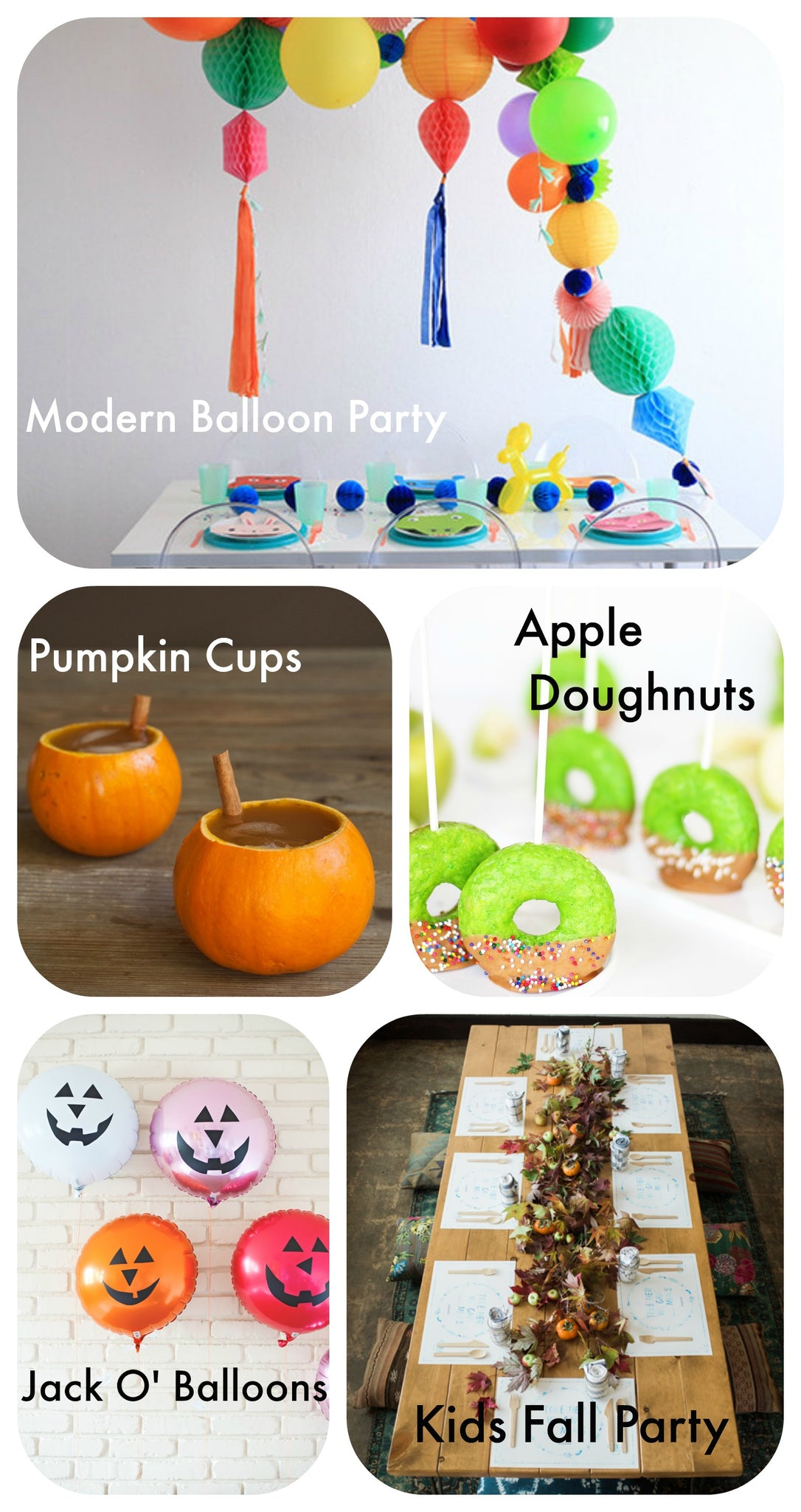 Perfect Party Ideas - Autumn